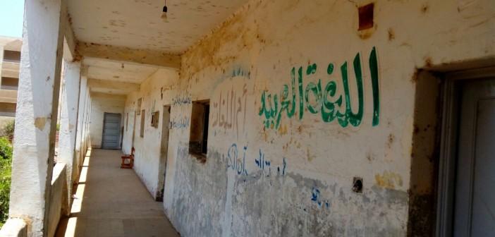 الرطوبة تأكل مبنى مدرسة «مشيرف» بالمنوفية.. ومطالب بترميمها (صور)