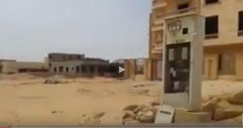 بالفيديو.. سكان «الشروق» يرصدون مشاهد تدمير البنية التحتية للكهرباء بالمدينة