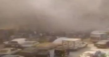 بالفيديو.. شاهد عيان: حريق في عقار سكني بعين شمس.. وسقوط مصابين
