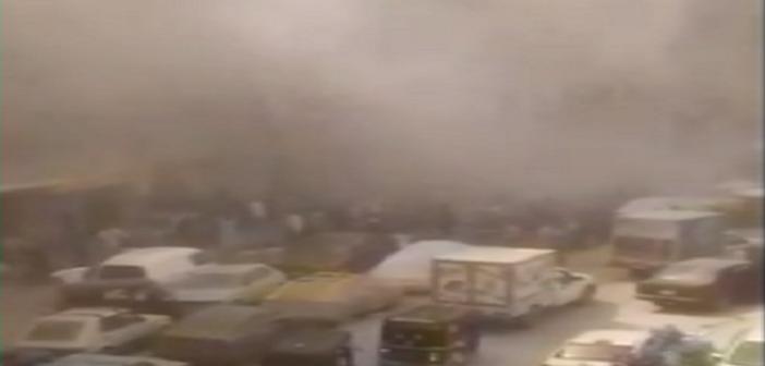 فيديو.. شاهد عيان: اندلاع حريق في عقار سكني بعين شمس.. وسقوط مصابين