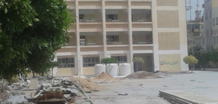 أهالي «بلقس» يطالبون محافظ القليوبية ووزير التعليم باستكمال بناء مدرسة القرية
