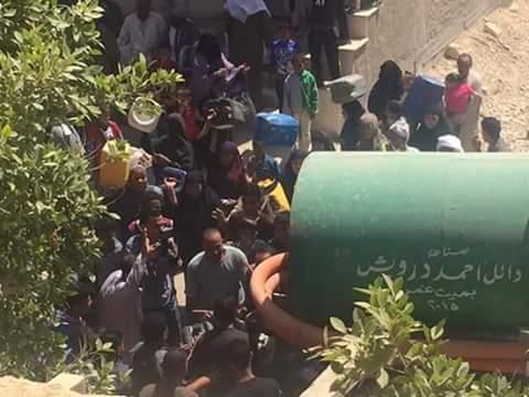 مواطنون يشكون انقطاع المياه عن قرى في مركز يوسف الصديق بالفيوم