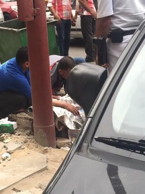 مصرع مواطن بالإسكندرية بعد تعثر قدمه في رصيف شارع أبو قير
