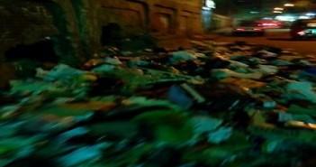 تجمعات القمامة تحاصر وحدة صحية بإمبابة