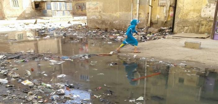 في مساكن النصر ببورسعيد.. صور مُكررة لطفح الصرف وتجاهل تام للمسؤولين