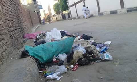 بالصور.. مخلفات طبية بالشوارع تهدد حياة مواطني إدفو بأسوان