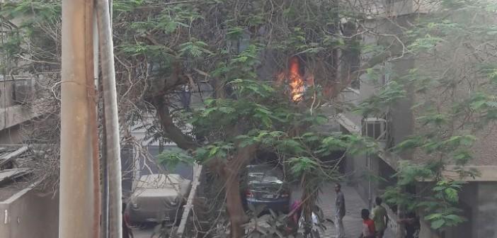 السيطرة على حريق في شقة قرب ميدان الحجاز بمصر الجديدة (صور)