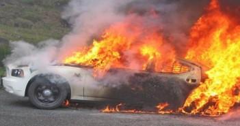 حريق  سيارة ـ أرشيفية