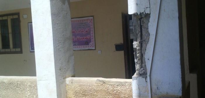تصدع جدران بمعهد «طناح» الأزهري بالدقهلية.. ومطالب بترميمه (صور)