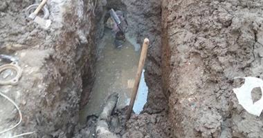مواطنون بالمنيا يشكون عدم استكمال توصيلات المياه والصرف الصحي