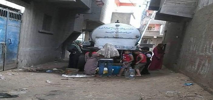 انقطاع المياه عن «الروضة» بالدقهلية منذ أيام: مأساة لا ترضي أحدًا (صور)
