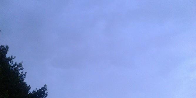 بعد نار الجو.. أمطار وموجة برق ورعد في سماء القليوبية (صور)