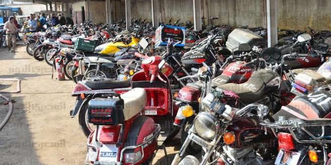مواطن يطالب مدير أمن قنا بإعادة دراجته البخارية المسروقة
