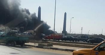 القاهرة، سوق العبور، صحافة المواطن، واتس آب المصري اليوم، حريق،