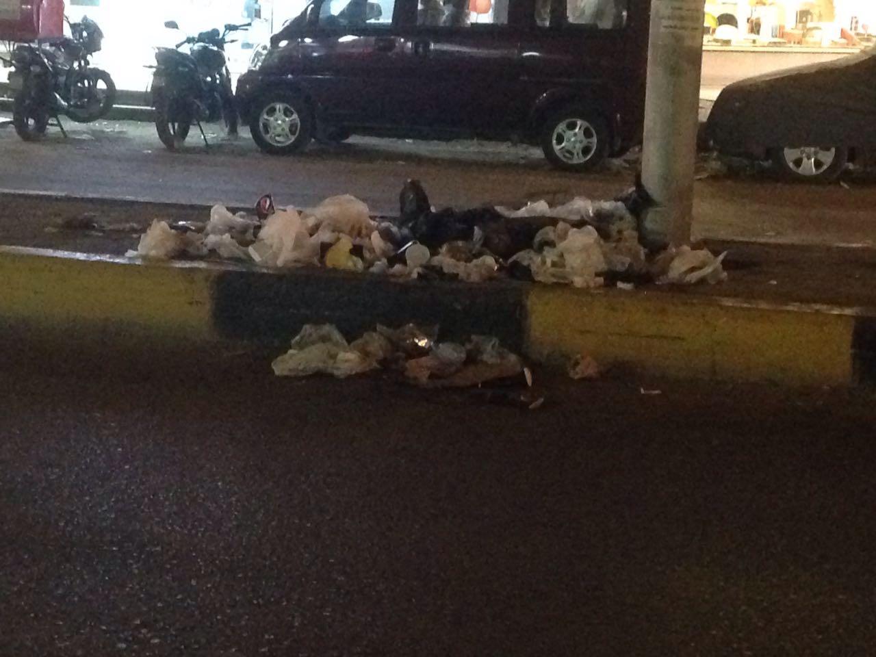 مواطنون يشكون تفاقم أزمة القمامة بشوارع الدقي