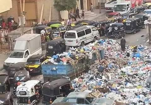انتشار القمامة بشوارع الإسكندرية يثير غضب المواطنين