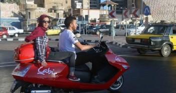 موتوسيكلات «كابي».. خدمة جديدة لتوصيل الركاب بالإسكندرية عبر الهواتف الذكية (صور)