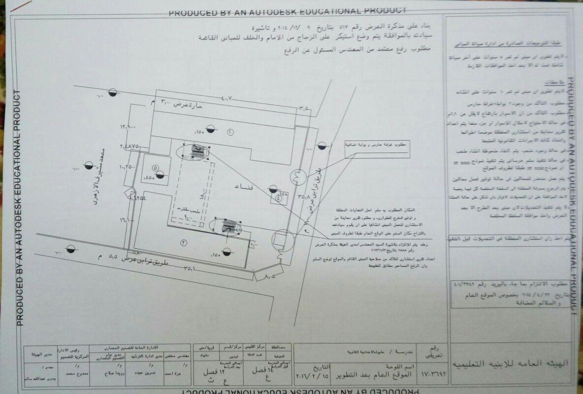 استجابة «لشارك» هيئة الأبنية بالمنوفية تقرر ترميم مدرسة مشيرف