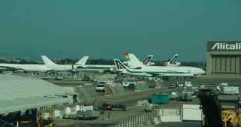 مطار روما ـ أرشيفية
