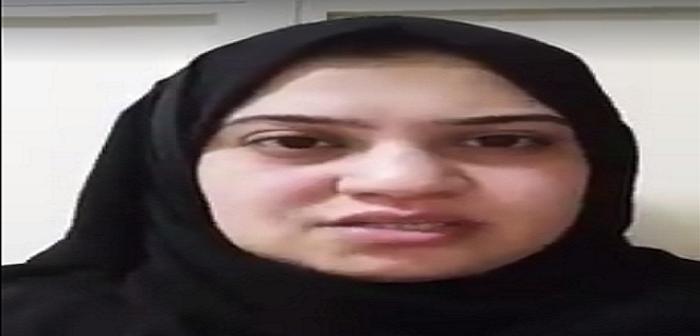 بالفيديو.. طبيبة مصرية بالسعودية تطالب الملك سلمان بوقف ظلم كفيلها