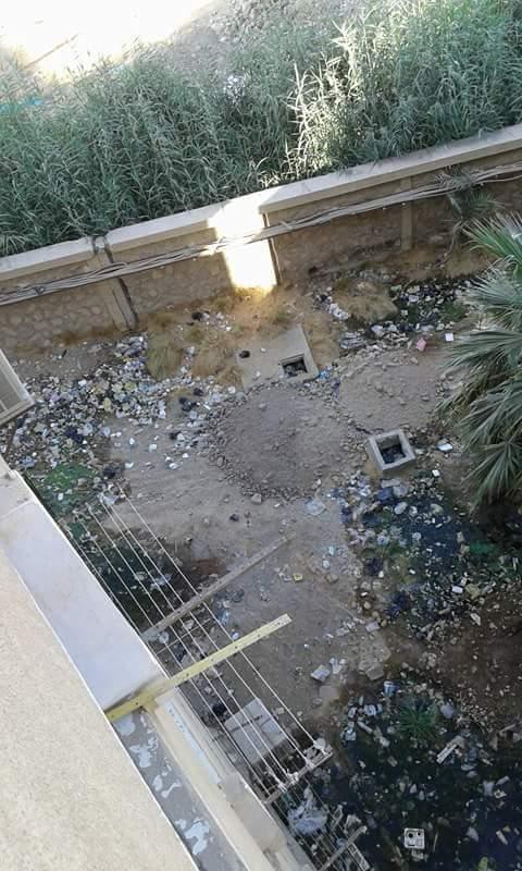 إستياء من أهالى إدفو بأسوان من سوء حالة شبكة الصرف الصحي بالمحافظة