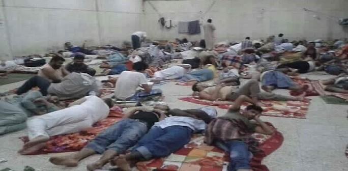 صورة | مصريون عَ الأرض قبل ترحيلهم نهائيًا من السعودية بسبب «بصمة الحج»