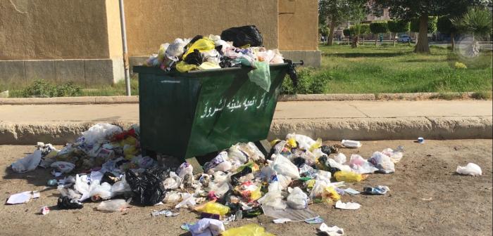 أهالي «الشروق» يعتزمون إطلاق حملة لجمع القمامة أمام جهاز المدينة