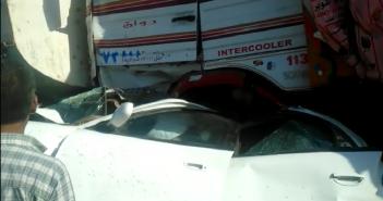 حادث تصادم بين 6 سيارات على طريق إسكندرية الصحراوى وإصابة 20 شخص