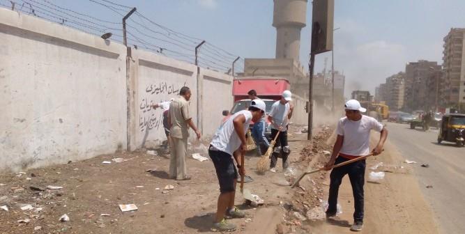 بالصور.. بدء فعاليات حملة «حلوة يا بلدي» لتجميل شوارع القليوبية
