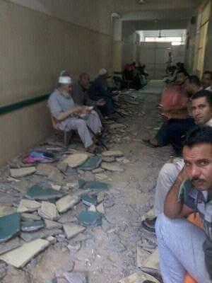 تحطم عيادات التأمين الصحي بمستشفى السنبلاوين.. ومطالب لـ«إمام» بالتدخل (صور)