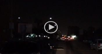بالفيديو.. الظلام يغطي شوارع بمدينة نصر لتعطل كشافات «الليد» بعد شهر من تركيبها