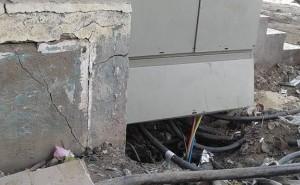 بالصور.. محولات كهرباء «المرجوشي» بمحافظة القليوبية قنابل موقوته