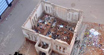حسن طوبار زعيم مصري قاوم الحملة الفرنسية لمصر 1789 تحول قبرة لمقلب قمامة 2016