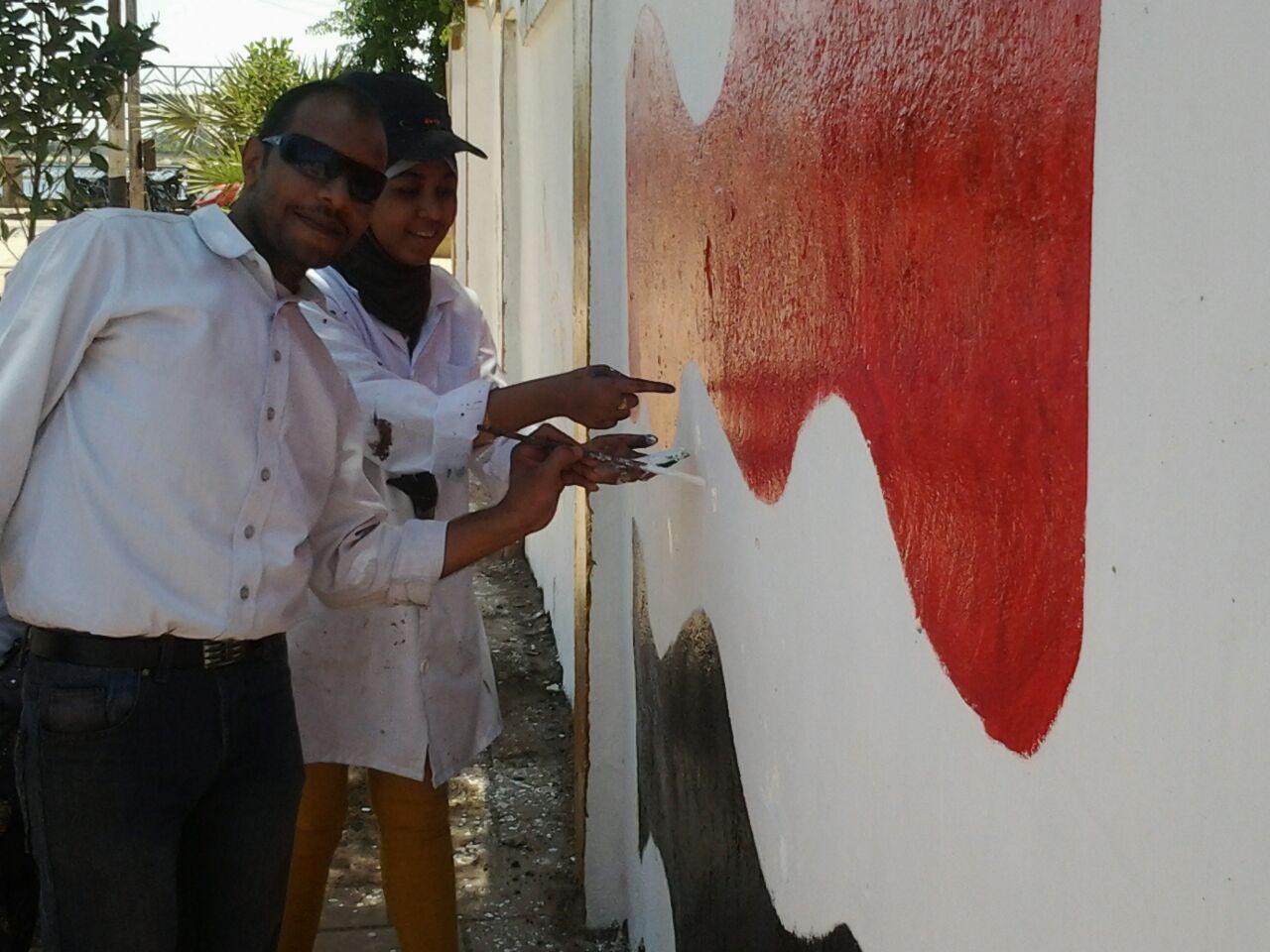 حملة للنظافة وتجميل إدفو ضمن مبادرة «حلوة يا بلدي»