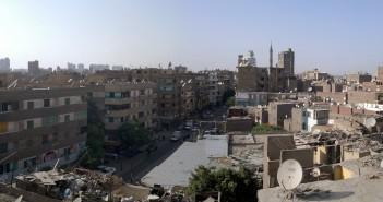 شارع الترعة البولاقية ـ غياب المياه عن مناطق في شبرا مصر بسبب انكسار ماسورة