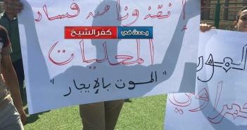 صور وفيديو.. غضب في «الحمراوي» بكفر الشيخ بعد مصرع شاب صعقا بالكهرباء