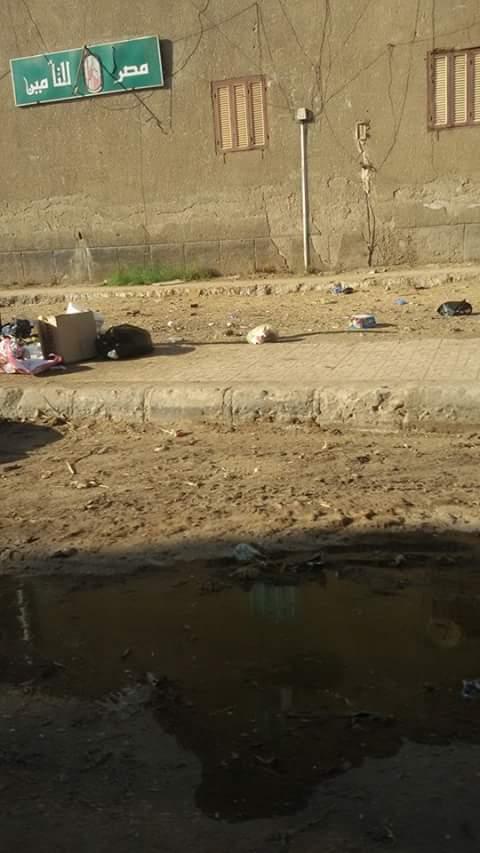 مياه الصرف تغمر شوارع «قرية السباعية» مركز إدفو بأسوان (صور)