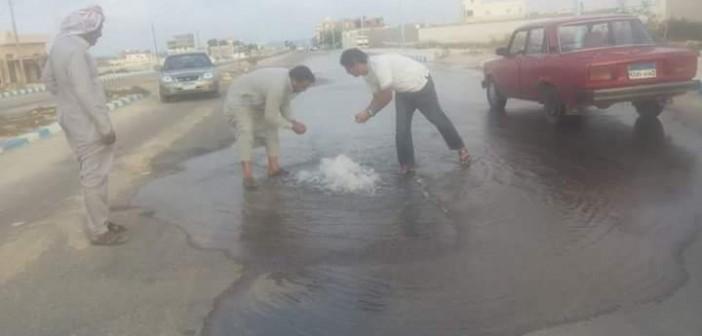 «مياه القاهرة»: جاري صيانة كسر ماسورتي صلاح سالم ورابعة العدوية