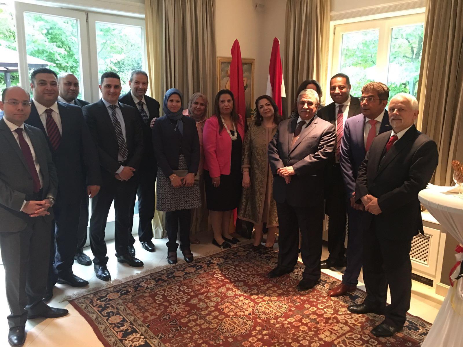 بالصور.. قنصلية مصر في فرانكفورت تحتفل باليوم الوطني المصري بحضور منير