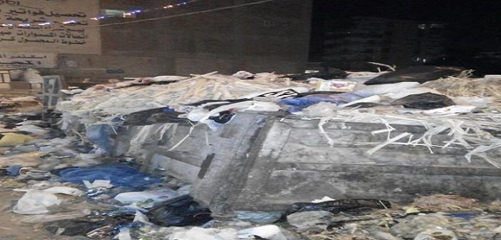 طلعت ريحتكم.. القمامة تحاصر شاطىء النخيل غرب الإسكندرية (صور)