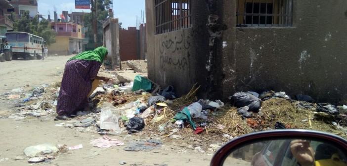 مواطن: القمامة تنتشر في مدخل قويسنا.. والمياه غير صالحة للشرب