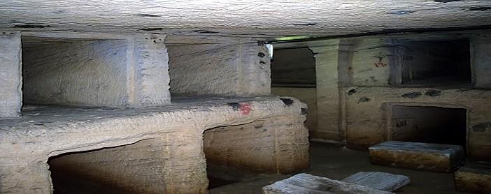 بالصور.. غرق آثار بـ«كوم الشقافة» في المياه الجوفية غرب الإسكندرية