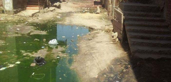 صور | مطالب لمحافظ الجيزة باستكمال مشروع الصرف في «طموه ومنيل شيحة»