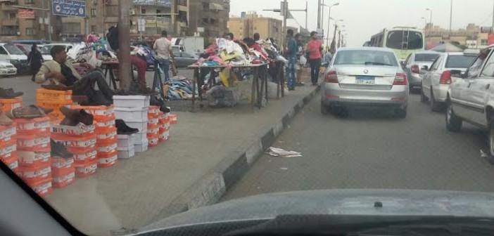 إشغالات المنطقة العاشرة تثير غضب مواطني مدينة نصر (صور)