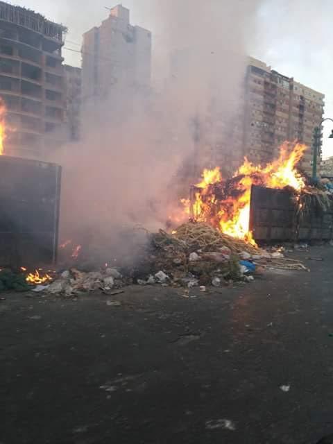 بالصور.. أهالي الإسكندرية يطالبون بإعادة تشغيل سلم سيدي جابر وحل أزمة القمامة بالمحافظة
