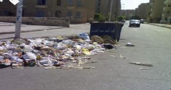 تفاقم أزمة القمامة «الشروق».. والمخلفات تنتشر في شوارع المدينة (صور)