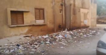 مواطن: الصرف والقمامة يحاصران القناطر الخيرية والمسئولين «لا حياة لمن تنادي» (فيديو)