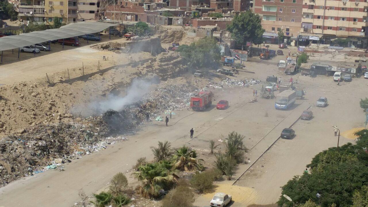 سكان الحي الثامن بمدينة نصر يشتكون من إحراق القمامة امام منازلهم ومسئولي الحي «لا حياة لمن تنادي»