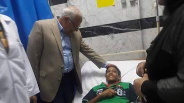محافظ بورسعيد يزور مستشفى المبرة.. ويدعمه بـ 10 أجهزة غسيل كلوي