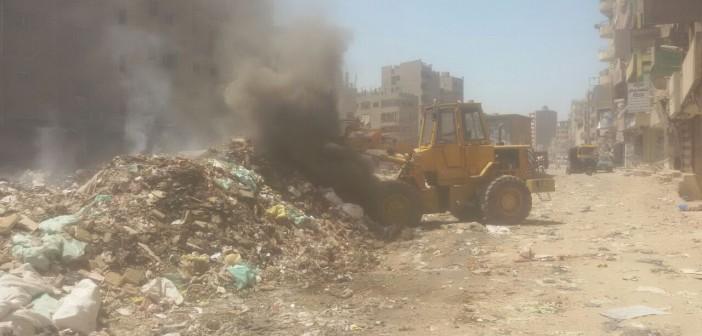 حق الرد | مدينة الخصوص عن أزمة القمامة: نرفعها يوميًا من الشوارع (صور)